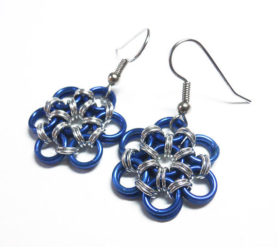 DoBatsEatCats Chainmaille Earrings